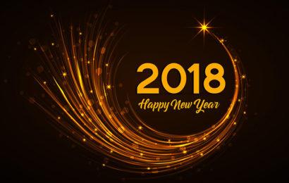 Những ảnh bìa chúc mừng năm mới 2018 vô cùng ấn tượng không thể bỏ qua