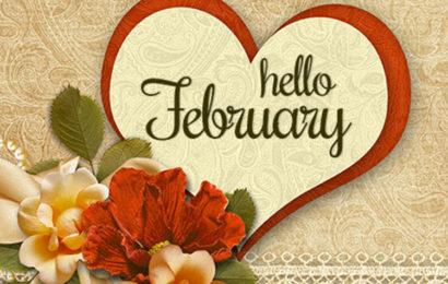 Bộ tuyển tập cover, ảnh bìa chào tháng 2 – Hello February đẹp