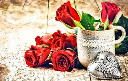 Những bức thiệp hoa hồng dành tặng người yêu ngày lễ tình yêu Valentine