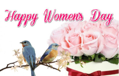 Thiệp chúc mừng ngày quốc tế phụ nữ – Happy Women's Day 8-3 động