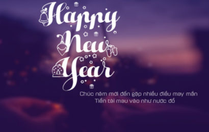 Share file psd ảnh bìa Happy New Year lung linh