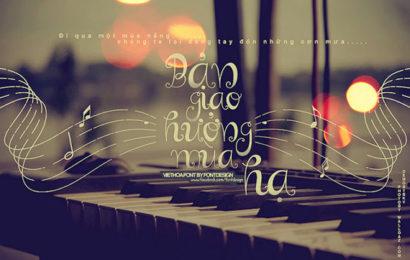 Chia sẻ font chữ Curly Việt hóa cực chất cho thiết kế