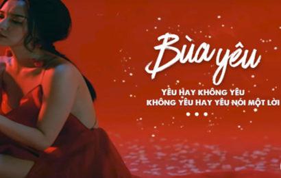 Chia sẻ file psd cover facebook bài hát bùa yêu của Bích Phương