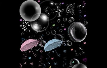 Chia sẻ tài nguyên psd bong bóng đẹp, lung linh sắc màu
