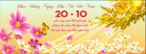 Tuyển tập ảnh bìa chúc mừng ngày phụ nữ Việt Nam 20/10 đẹp số 21