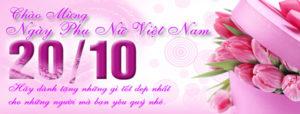 Tuyển tập ảnh bìa chúc mừng ngày phụ nữ Việt Nam 20/10 đẹp số 10