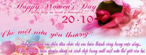 Tuyển tập ảnh bìa chúc mừng ngày phụ nữ Việt Nam 20/10 đẹp số 8