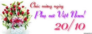 Tuyển tập ảnh bìa chúc mừng ngày phụ nữ Việt Nam 20/10 đẹp số 7