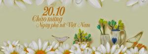 Tuyển tập ảnh bìa chúc mừng ngày phụ nữ Việt Nam 20/10 đẹp số 6