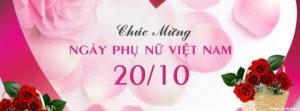 Tuyển tập ảnh bìa chúc mừng ngày phụ nữ Việt Nam 20/10 đẹp số 4