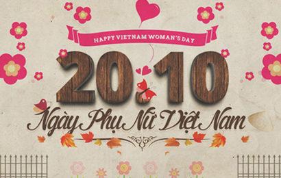 Tuyển tập ảnh bìa chúc mừng ngày phụ nữ Việt Nam 20/10 đẹp