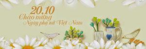 Tuyển tập ảnh bìa chúc mừng ngày phụ nữ Việt Nam 20/10 đẹp số 18