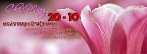 Tuyển tập ảnh bìa chúc mừng ngày phụ nữ Việt Nam 20/10 đẹp số 17