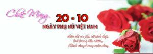 Tuyển tập ảnh bìa chúc mừng ngày phụ nữ Việt Nam 20/10 đẹp số 14