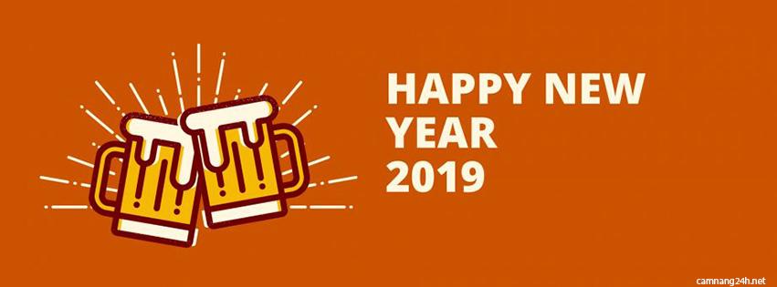 Tuyển tập 20 cover, ảnh bìa facebook chúc mừng năm mới 2019 kỷ hợi số 20