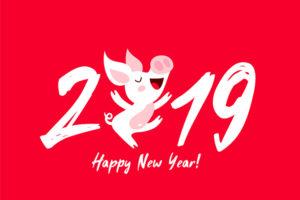 Tuyển tập 20 cover, ảnh bìa facebook chúc mừng năm mới 2019 kỷ hợi
