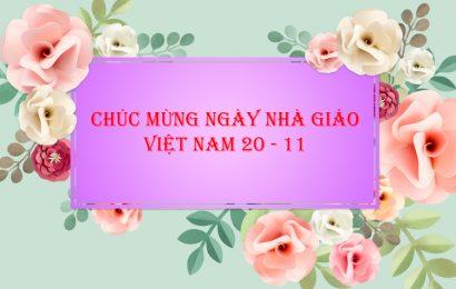 File psd mẫu thiệp chúc mừng ngày nhà giáo Việt Nam 20/11 đơn giản