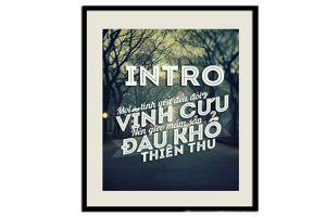 font chữ VNF Intro Inline Việt Hóa đẹp miễn phí
