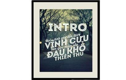 Chia sẻ font chữ VNF Intro Inline Việt Hóa đẹp miễn phí