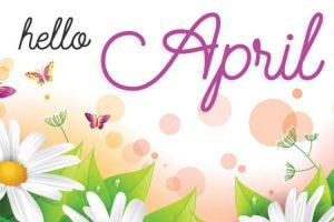 Tổng hợp ảnh bìa chào tháng 4 - Hello April của ngày đầu hạ