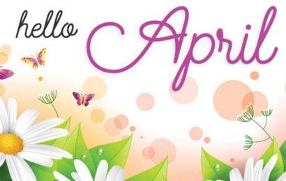 Tổng hợp ảnh bìa chào tháng 4 – Hello April của ngày đầu hạ