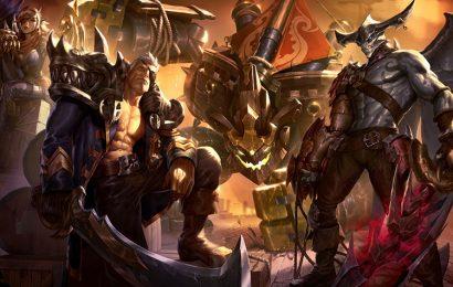 Top 20 hình ảnh tướng Aatrox (quỷ kiếm Darkin) trong game liên minh