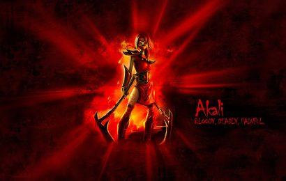 Top 30 hình ảnh nữ tướng Akali (Sát Thủ Đơn Độc) trong game liên minh