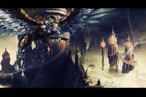 hình ảnh tướng Anivia (Phượng Hoàng Băng) trong game liên minh