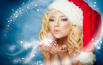Tuyển tập hình nền hot girl mừng giáng sinh – Merry Christmas lung linh