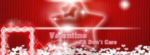 """File psd ảnh bìa tình yêu """"Valentine FA Don't Care"""" cho facebook số 1"""
