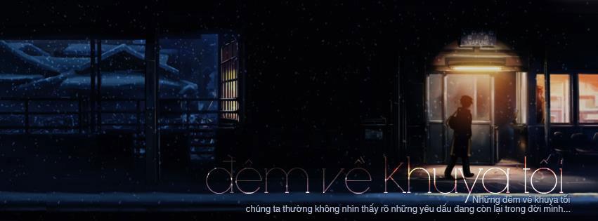 Tuyển tập ảnh bìa facebook buồn và cô đơn trong đêm tối số 9