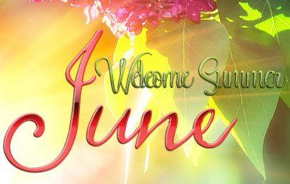 Share 30 ảnh bìa facebook chào tháng 6 – Hello June mùa hè rực rỡ